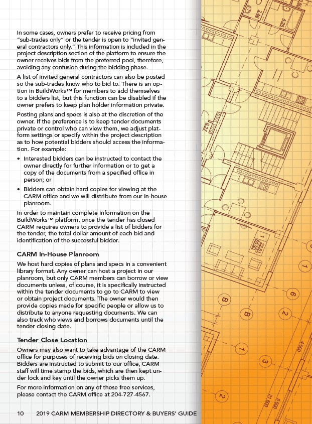 CARM - 2019 Membership Direcotry & Buyers' Guide - Page 12